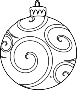 outline vector ornament