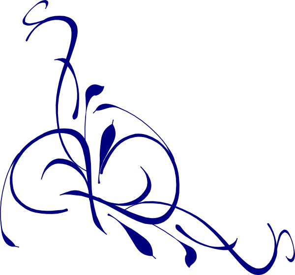 Swirl clipart side. Free blue cliparts download