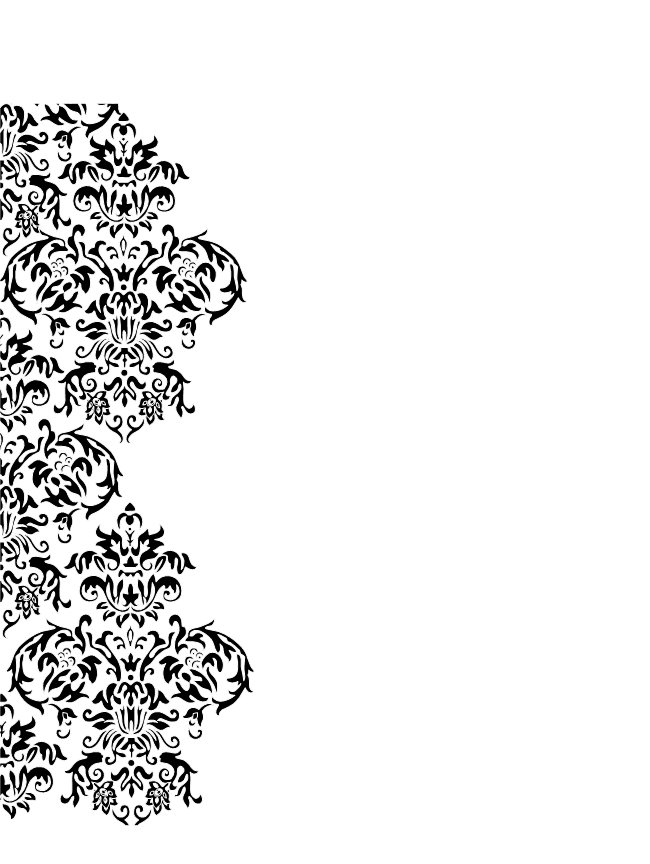 Swirl clipart side. Damask free images at