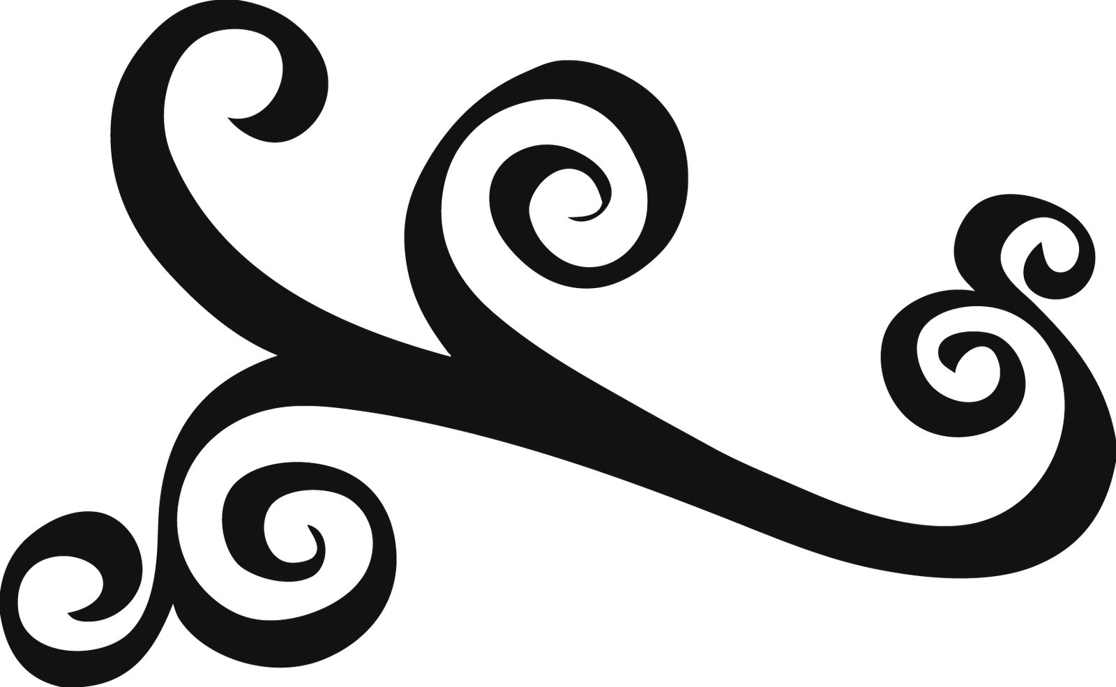 Simple swirl patterns png. Silhouette at getdrawings com
