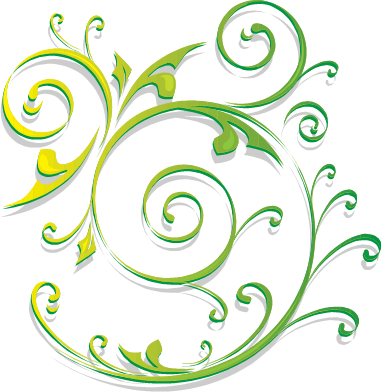 Swirls clipart green. Microsoft pencil and in