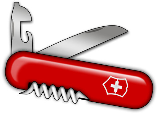 Swiss army knife png. By barkerbaggies on deviantart