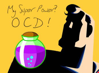 Switch clipart ocd. My super power raising
