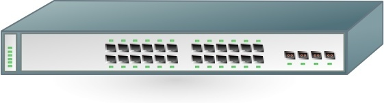 Switch clipart switch cisco. Ethernet gigabit free vector
