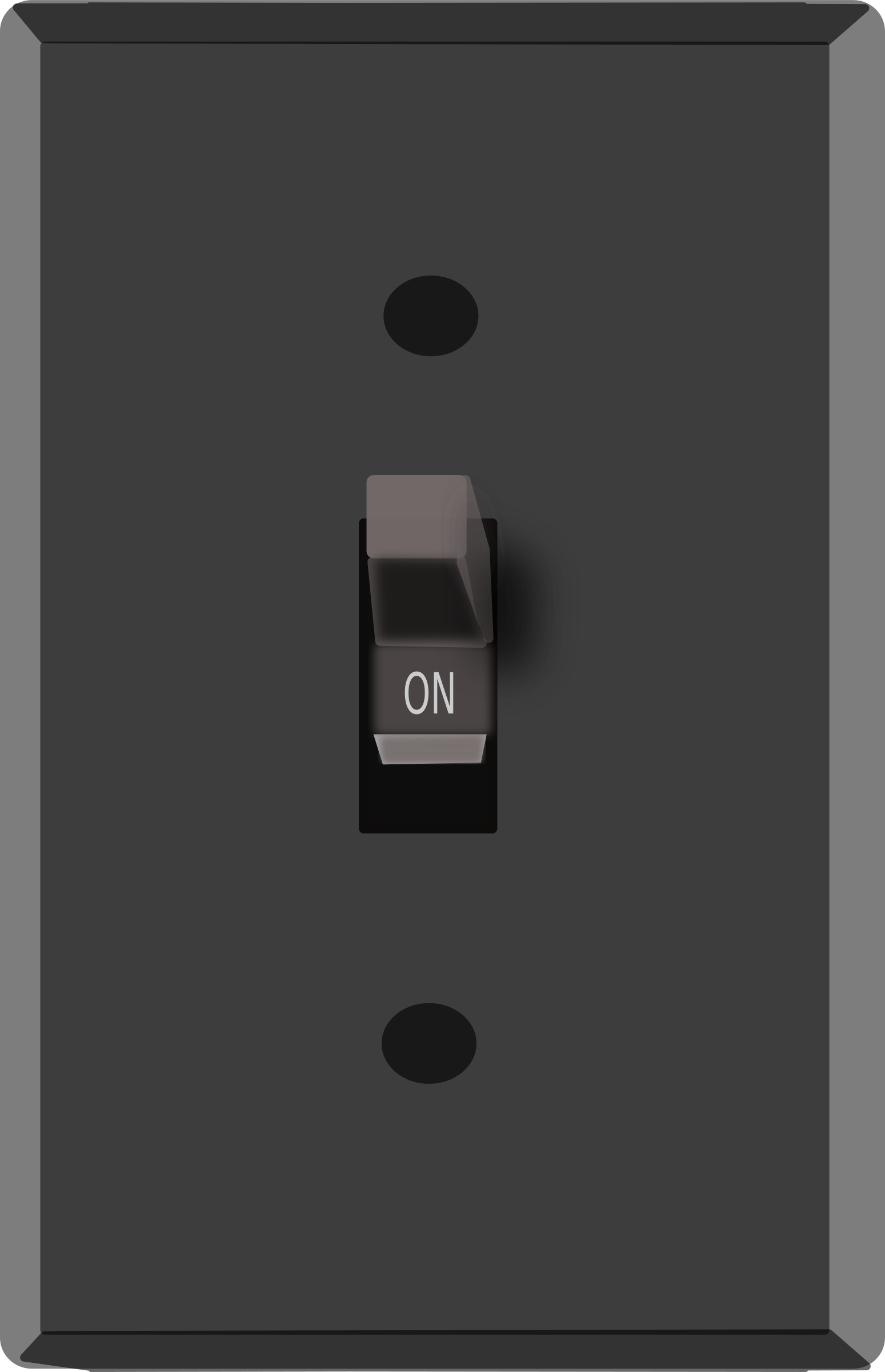 Turn gif to png. Clipart light switch on
