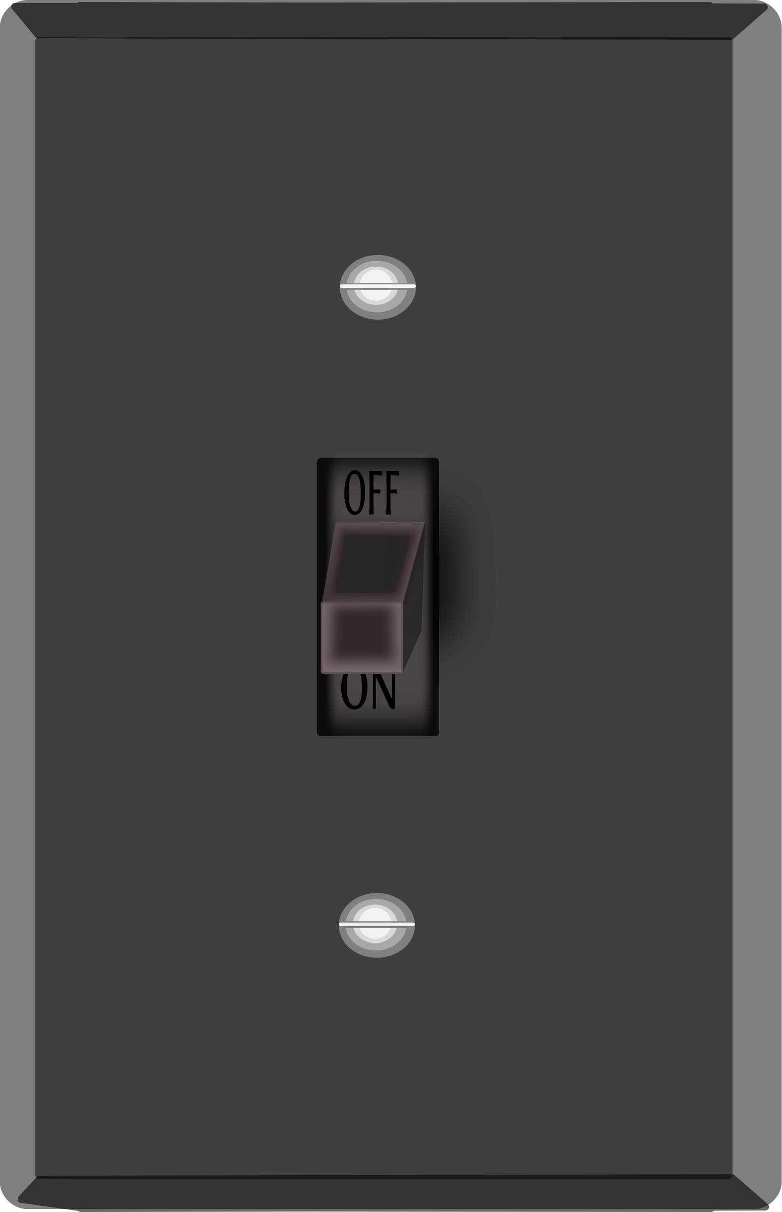 Turn gif to png. Clipart light switch big