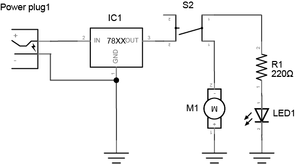Switch drawing. Lab switches and pushbuttons