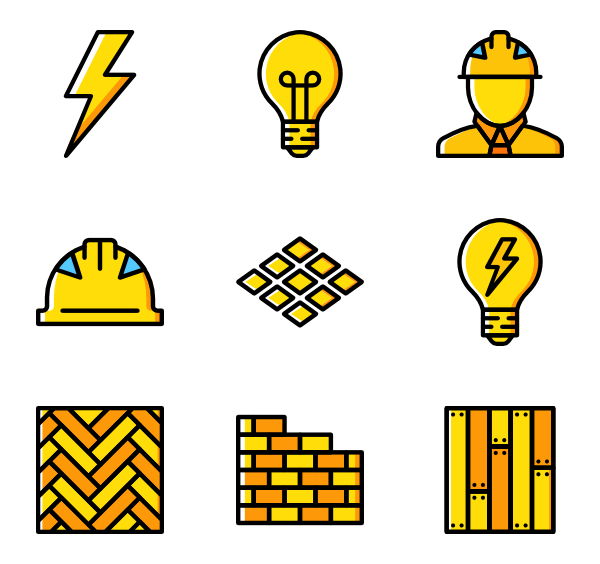 Swoop vector yellow. Basic miscellany icon family