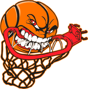 Swoosh clipart basketball hoop. Charity game this is