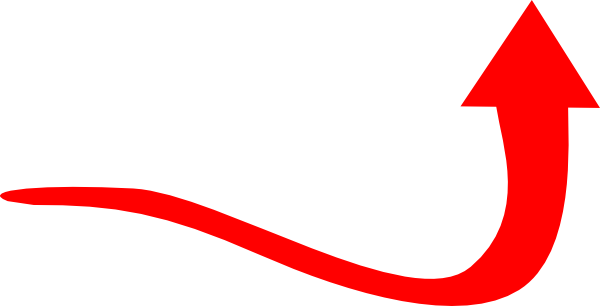 Vector curve red. Collection of free corves
