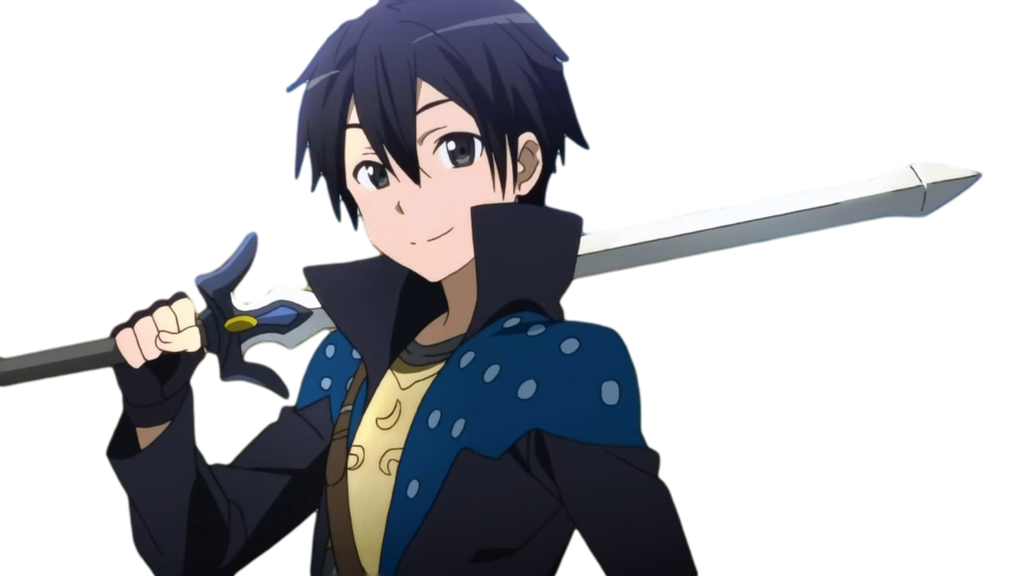 Sword art online png. Kirito kun from by