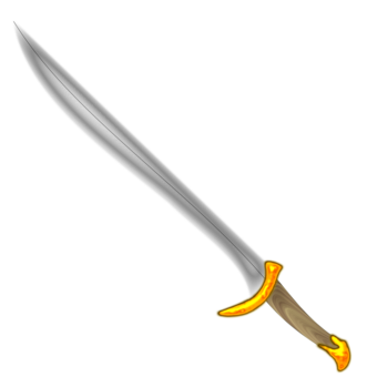 Saber vector cutlass. Longsword knightly sword weapon