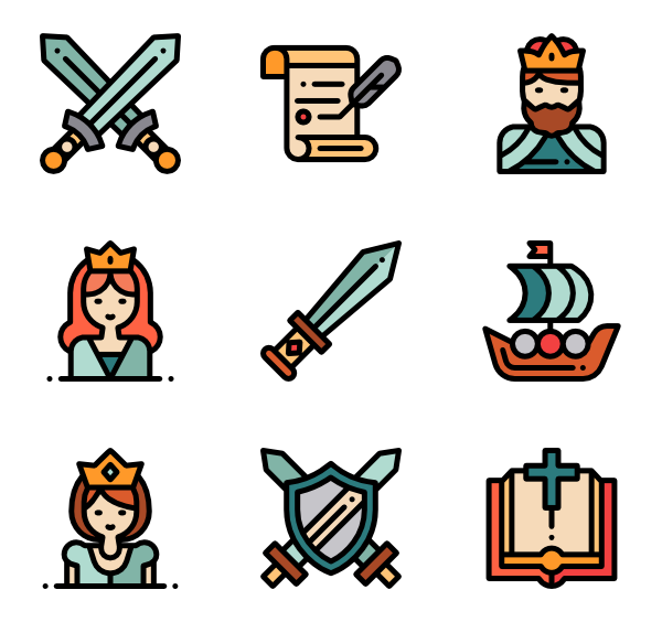 Sword vector png. Icons free medieval
