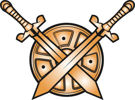 Swords clipart. Computer icons knightly sword