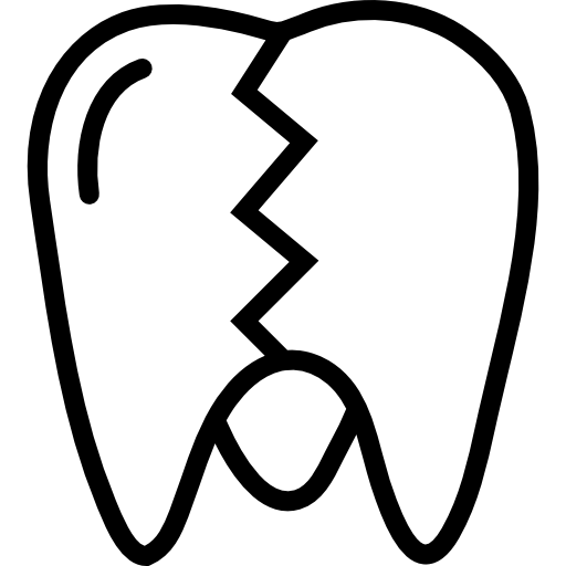 Sycra drawing clenched tooth. Dental services and procedures