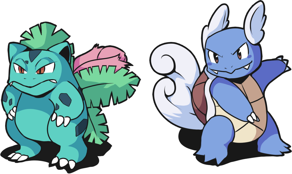Sycra drawing clenched tooth. Art farts ivysaur and