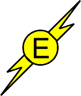 Symbols clipart electrical engineering. Fire safety plan electricalhazard