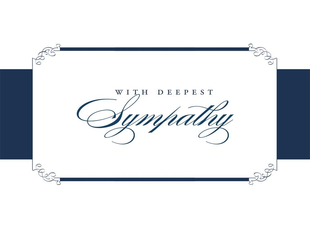 Sympathy clipart deepest condolence. Free cliparts co cards