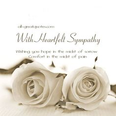 Sympathy clipart deepest condolence. Inspirational quotes for