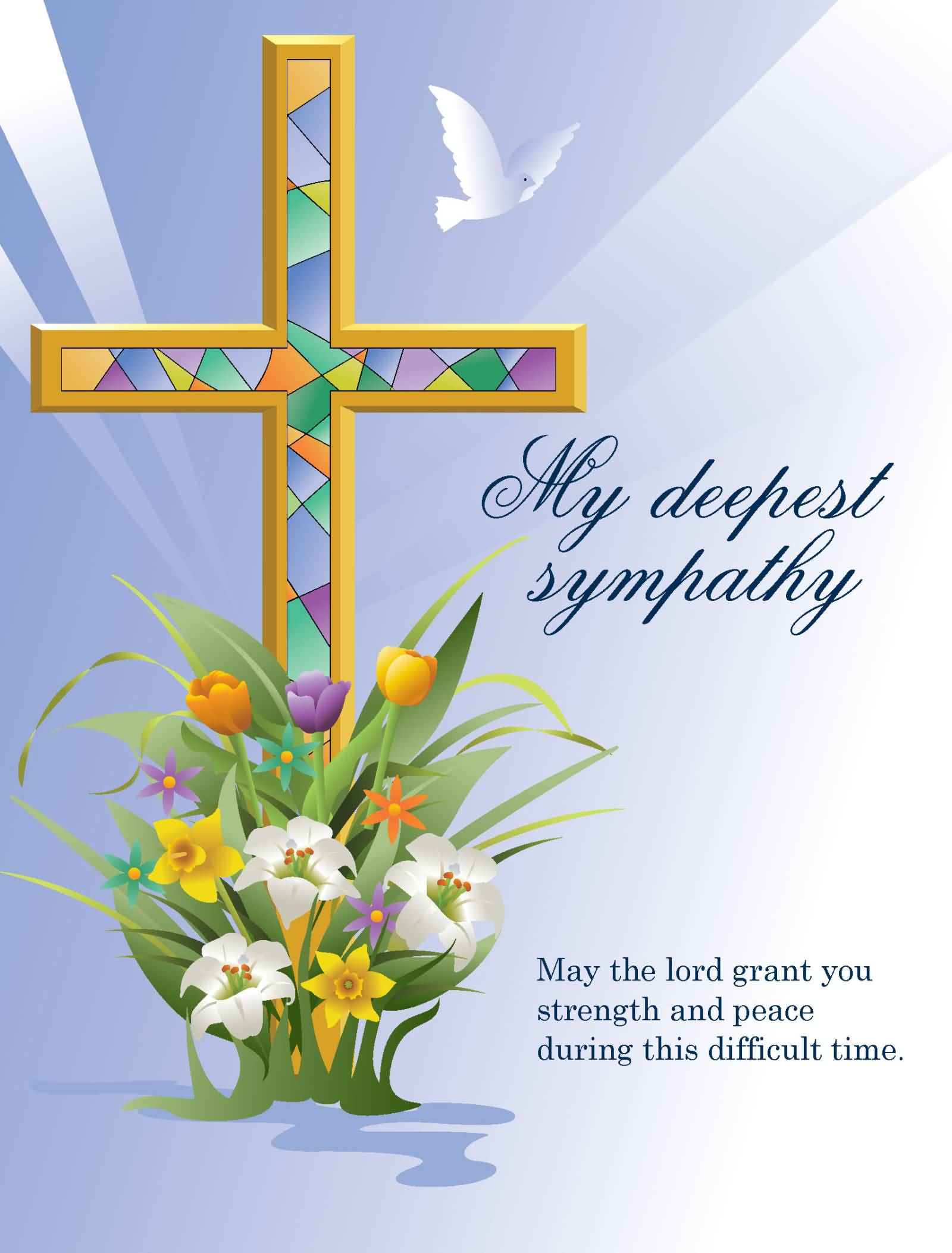 Sympathy clipart may. Message pictures and