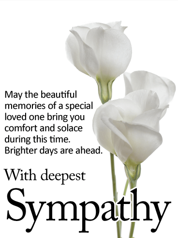 Sympathy clipart may. Brighter days are ahead