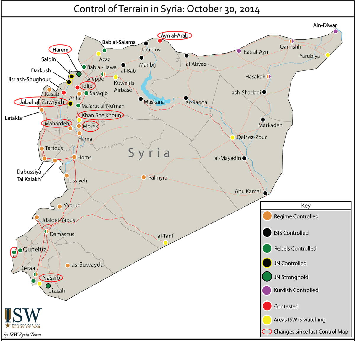Syria. American strategy in is