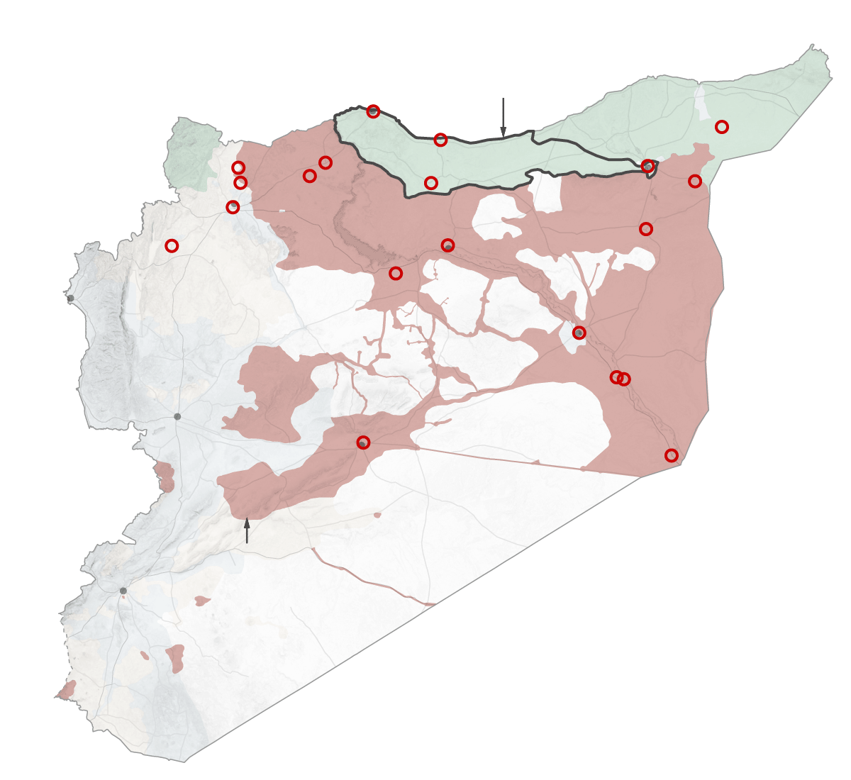 Syria. Untangling the overlapping conflicts