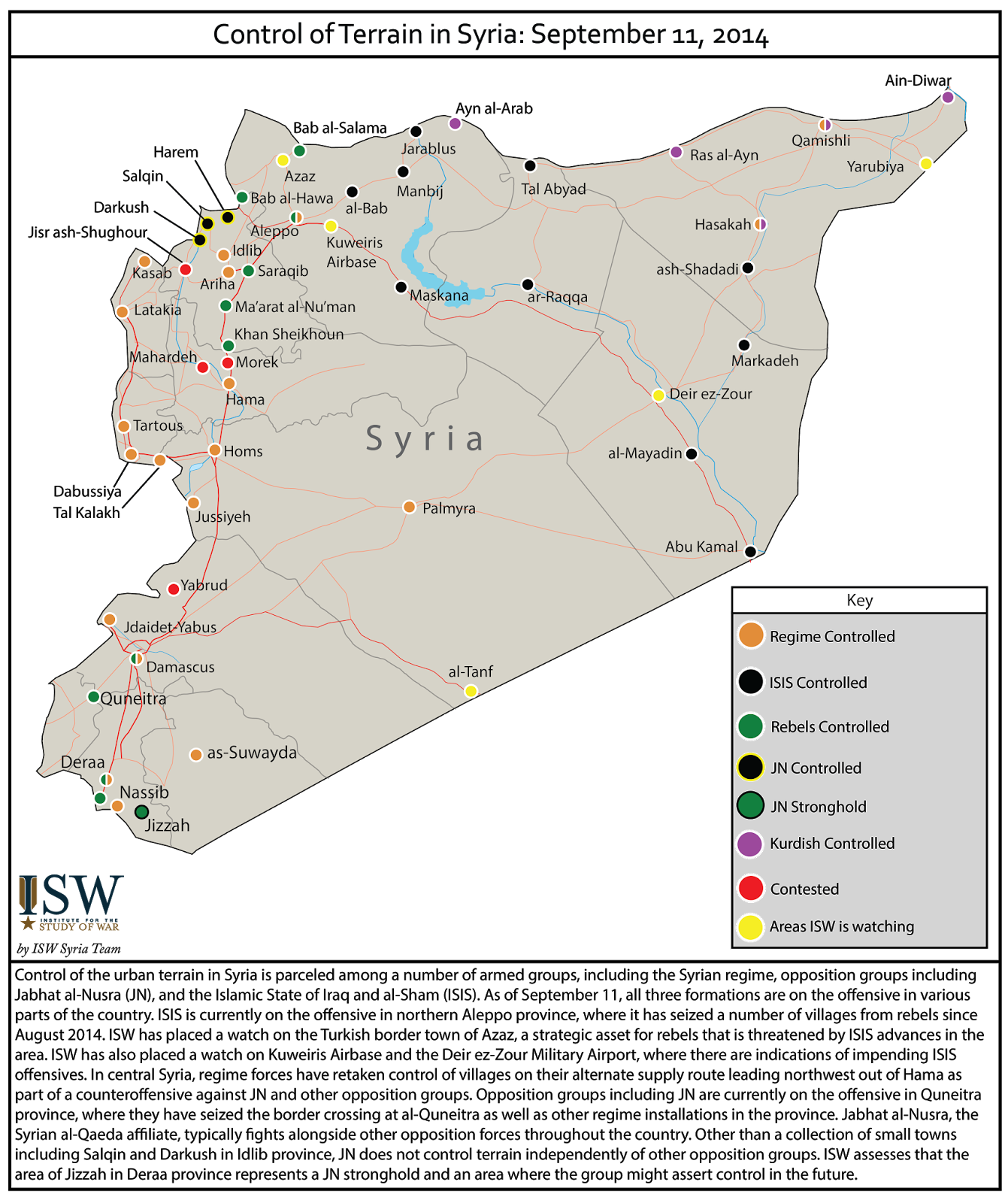 Syria. Syrian civil war graphic