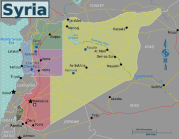 Syria. Travel guide at wikivoyage