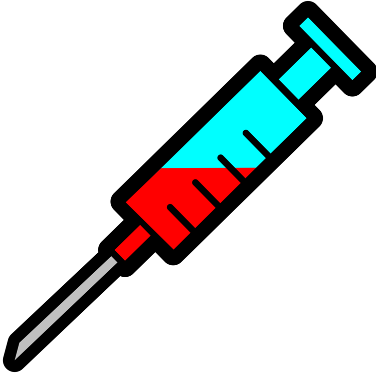 Syringe clipart dental syringe. Medicine injection hypodermic needle