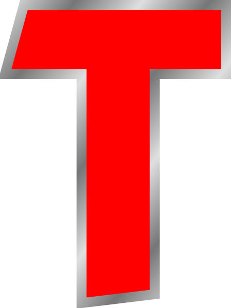 t clipart capital letter
