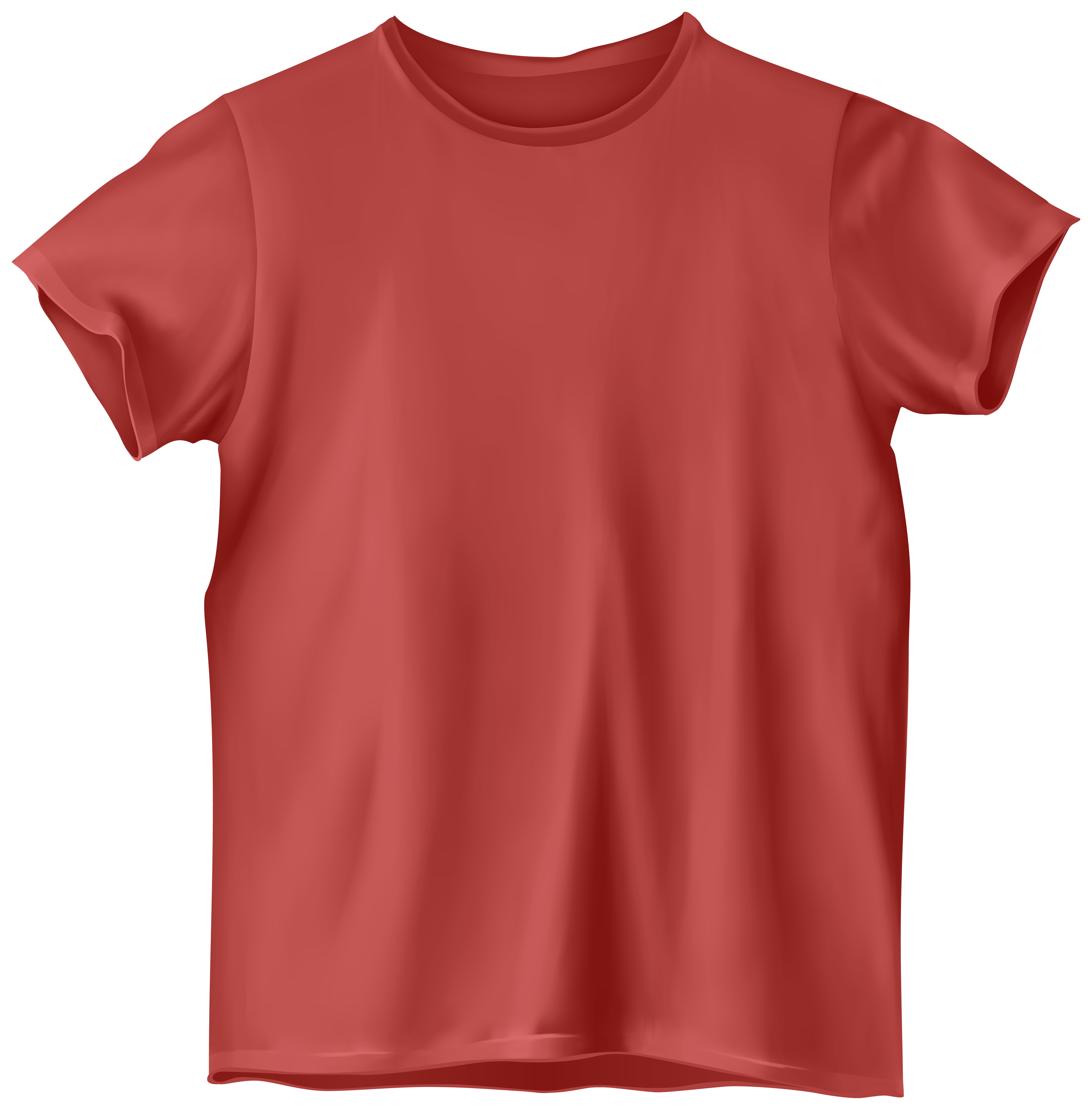 T clipart shrit. Red shirt png clip