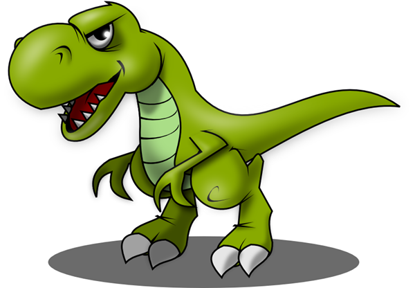 trex png standing