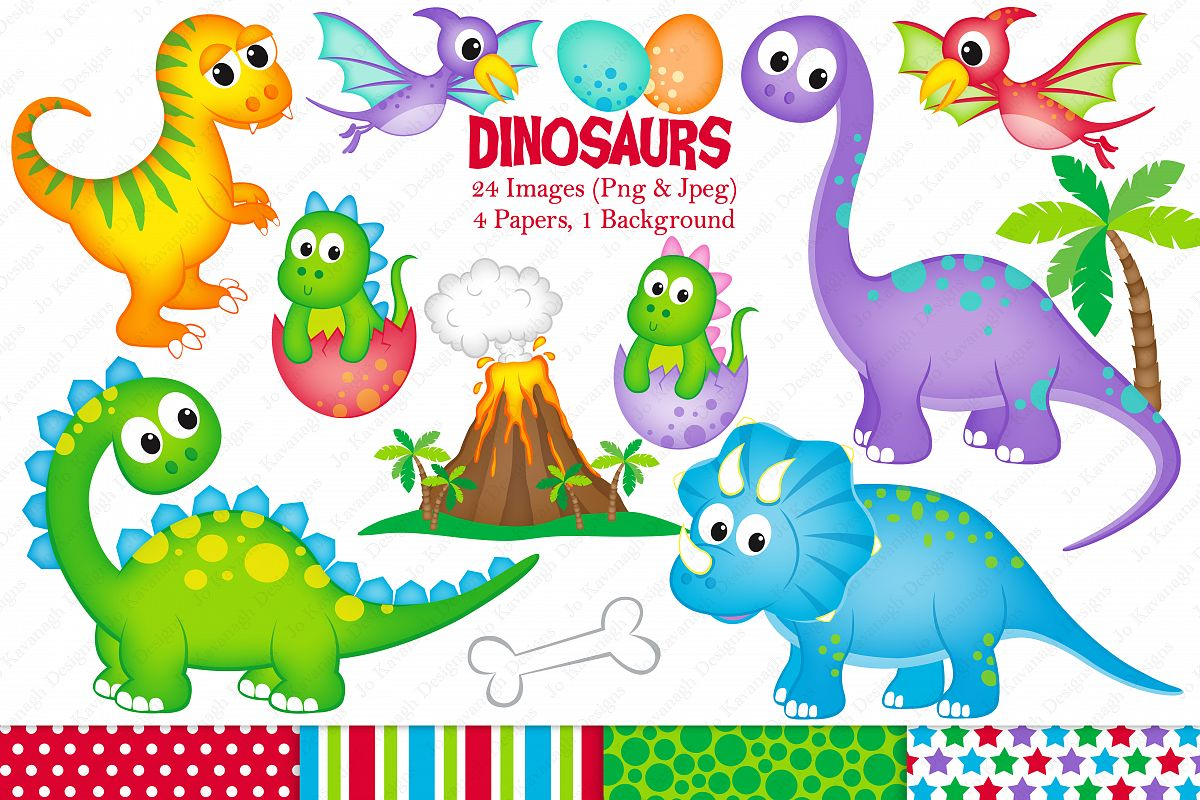 T rex clipart triceratops. Dinosaurs graphics illustrations din