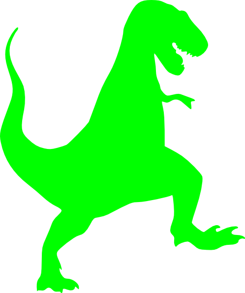 Dino svg cute. Lime t rex clip