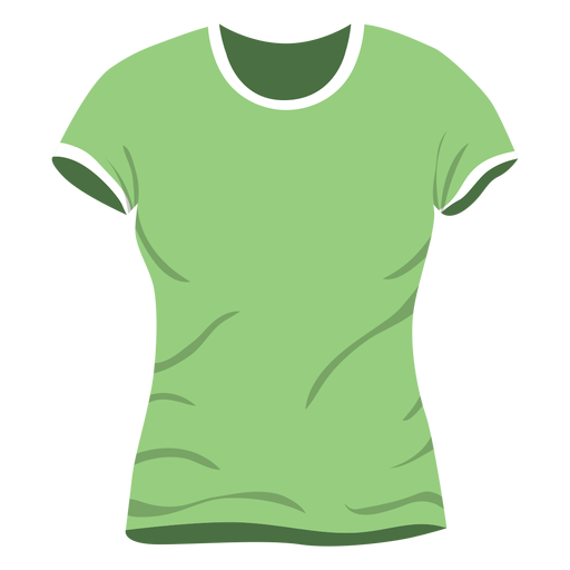 T shirt icon png. Green men transparent svg