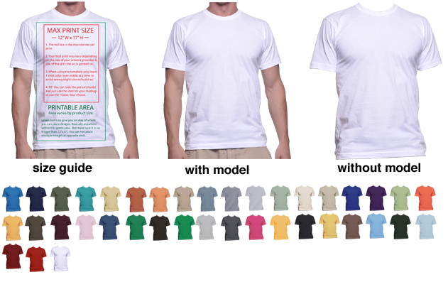 T shirt mockup png. Templates to help display