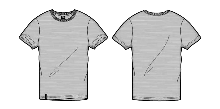 T shirt outline png. Template image background arts