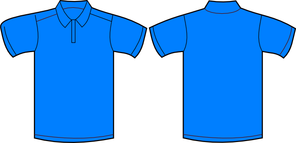 T shirt png front back. Polo and clip art