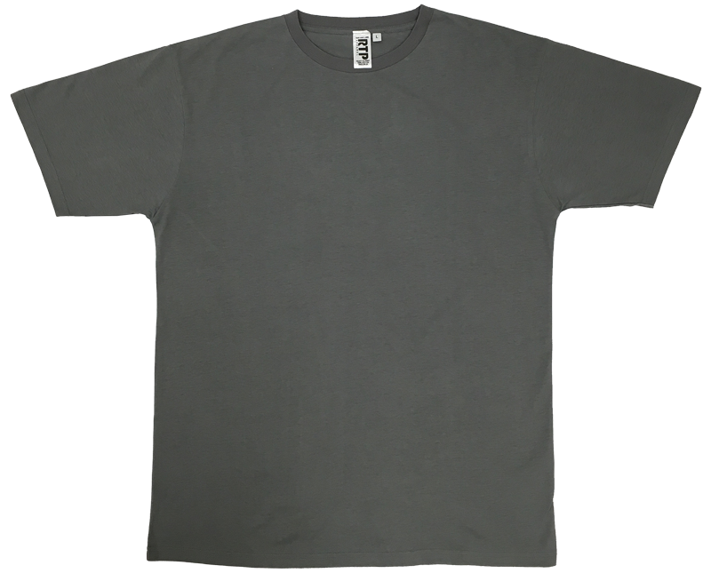 T transparent style. Charcoal dtg ready to