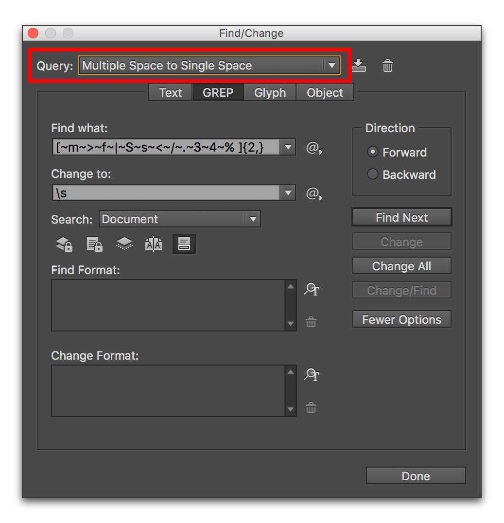 Tab vector blank. Adobe indesign removing unwanted