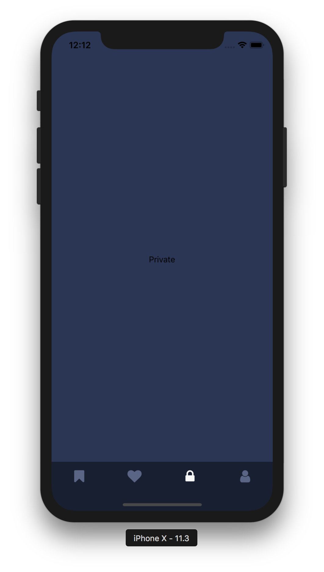 Tab vector tablet android. React native bar is