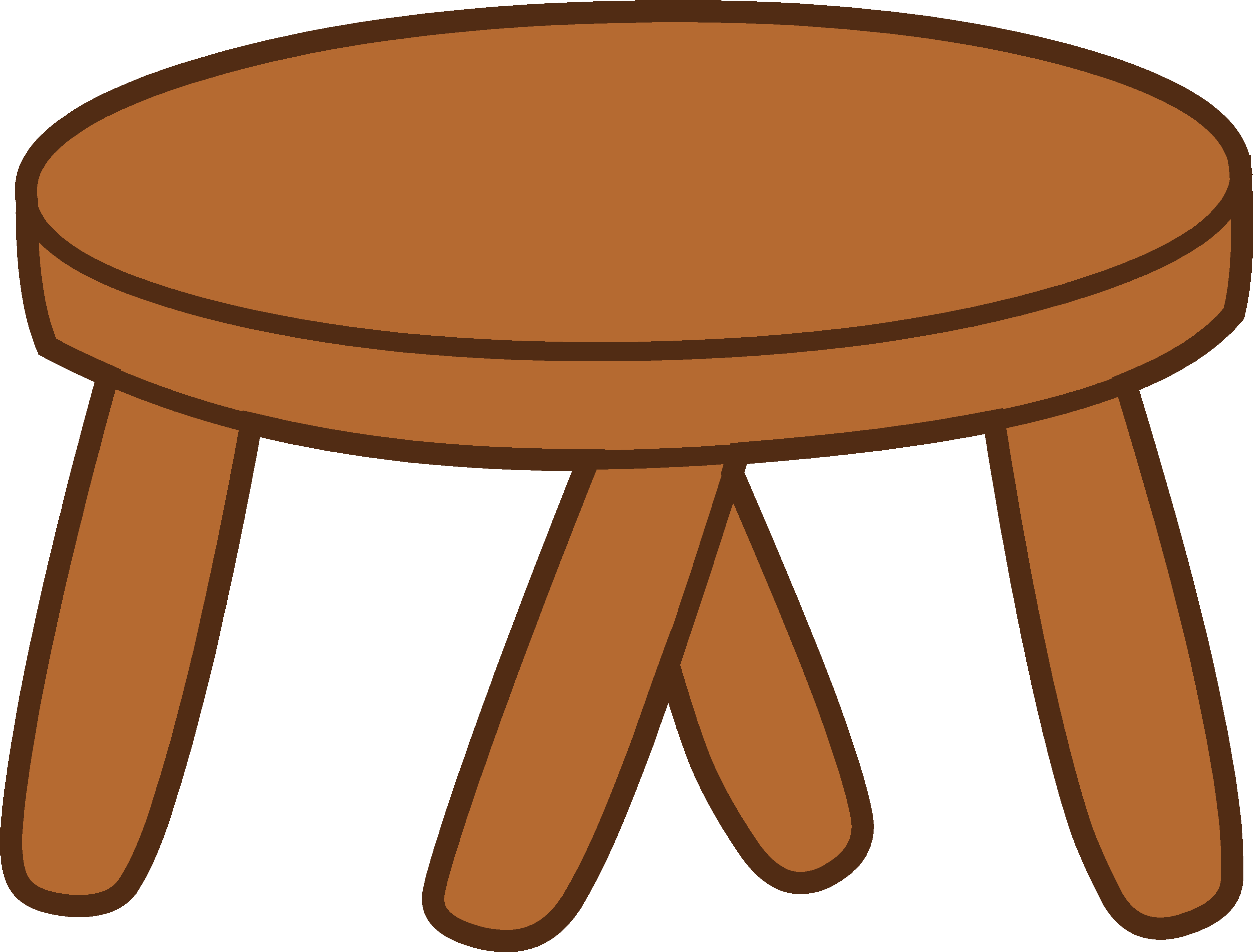 Stool best party cartoon. Furniture clipart png transparent download