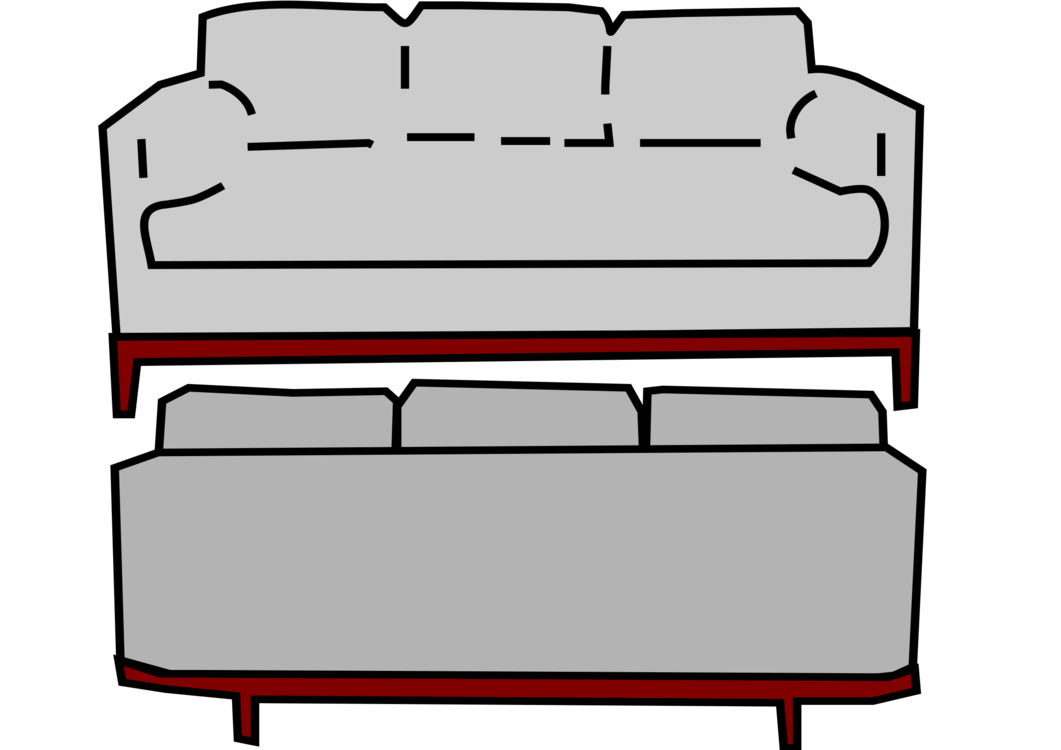 Table clip bed. Couch furniture sofa living