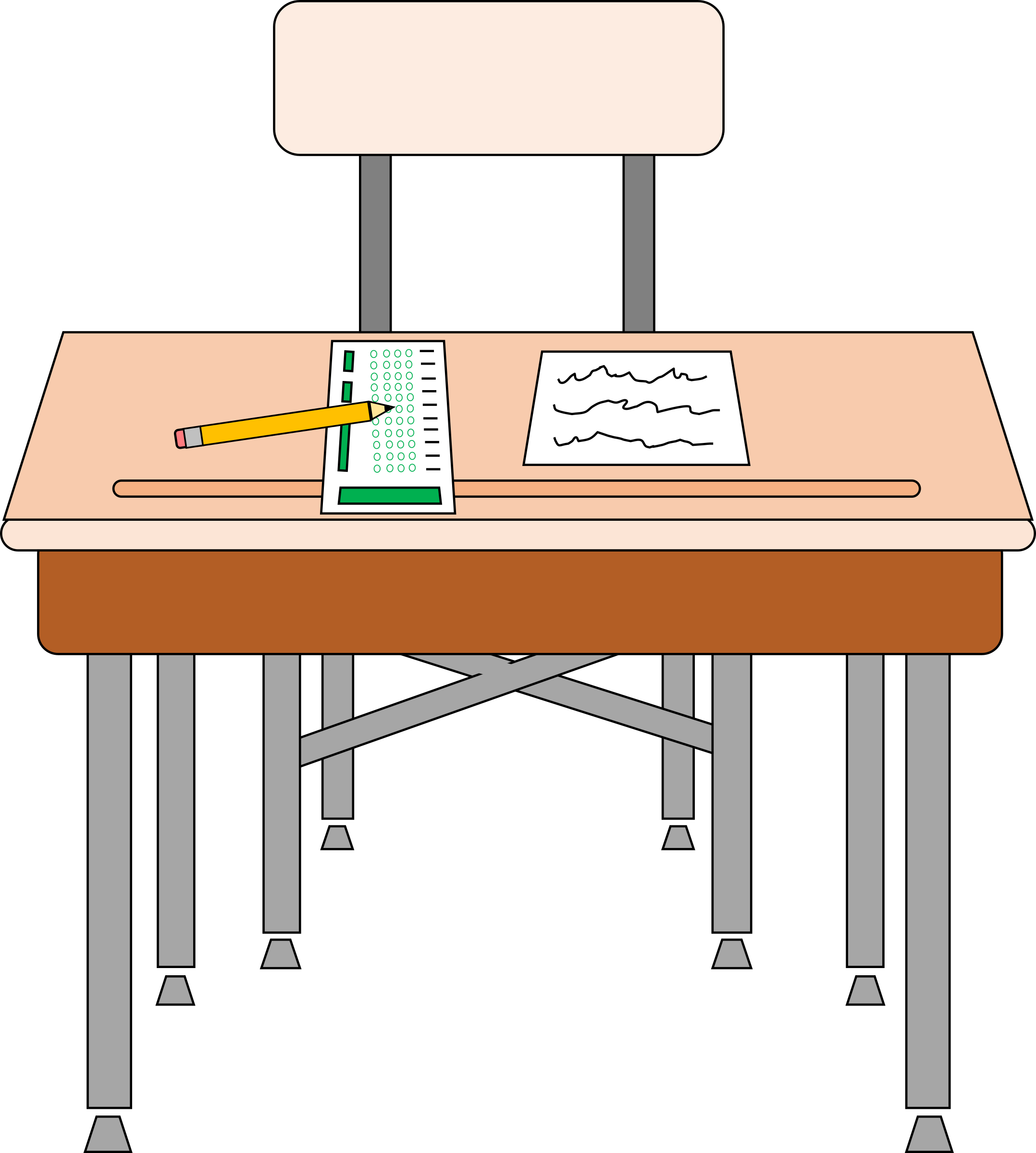 Chair School Desk Chair Transparent Png Clipart Free Download Ya