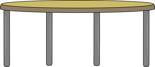 Table clip dining. Free cliparts round art