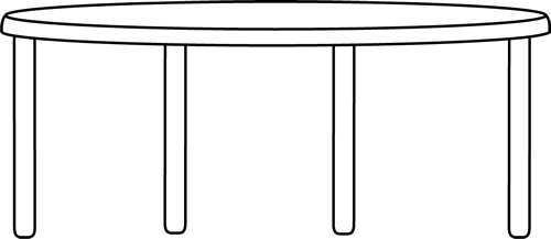 Table clip dinner. Round art free cliparts