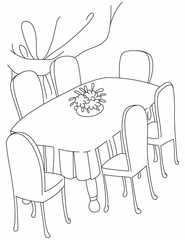 Table clipart breakfast table. Dinner drawing at getdrawings