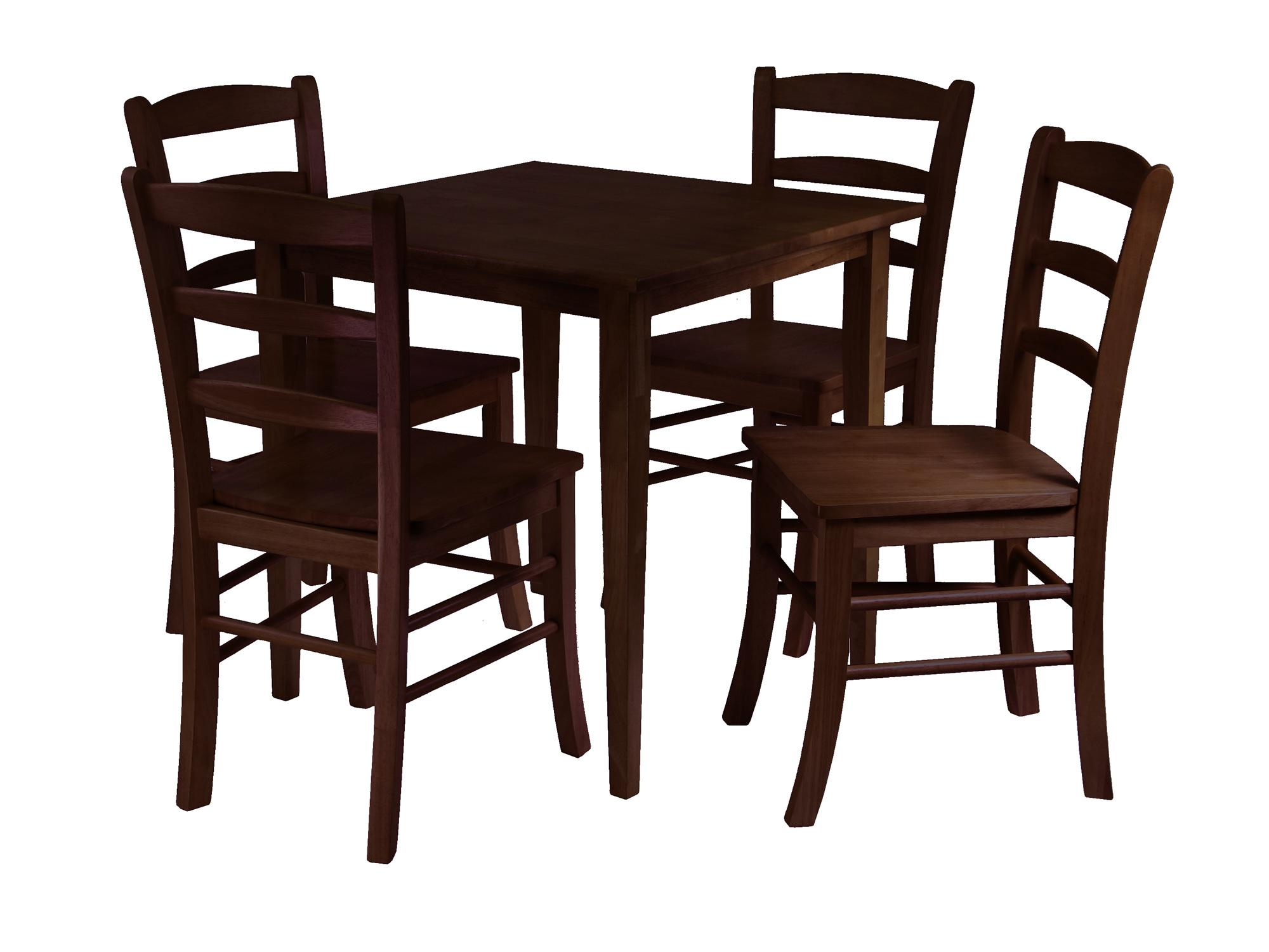 Table clipart breakfast table. Luxury with four chairs