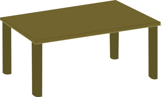 Table clipart living room table. Furniture chair free commercial